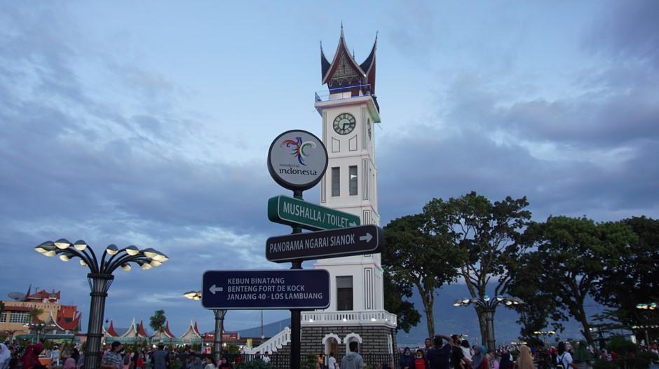 Jam Gadang Kota Bukittinggi